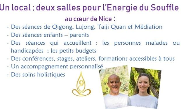 Visuel du projet Deux salles associatives pour du Qigong, Lujong, Taijiquan et Méditation à Nice