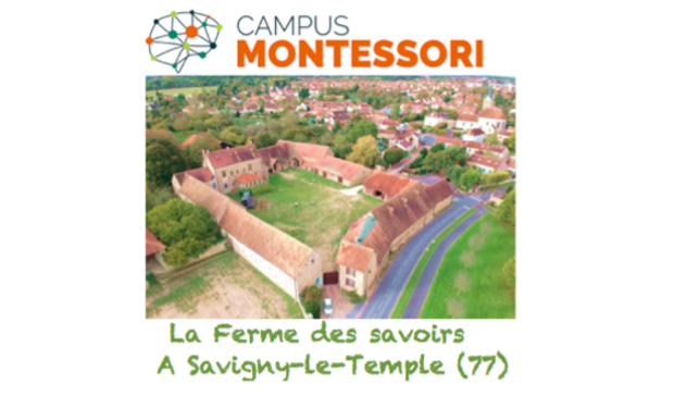 Project visual Campus Montessori Savigny le Temple
