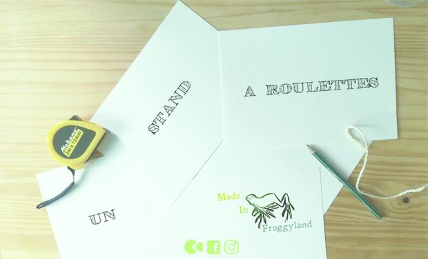 Visuel du projet Le stand mobile de Made In Froggyland
