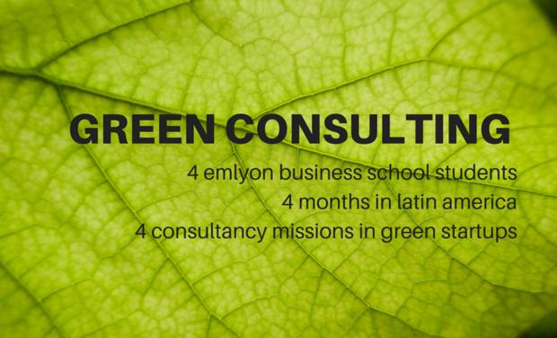 Visuel du projet Green Consulting : à la rencontre des startups durables en Amérique latine
