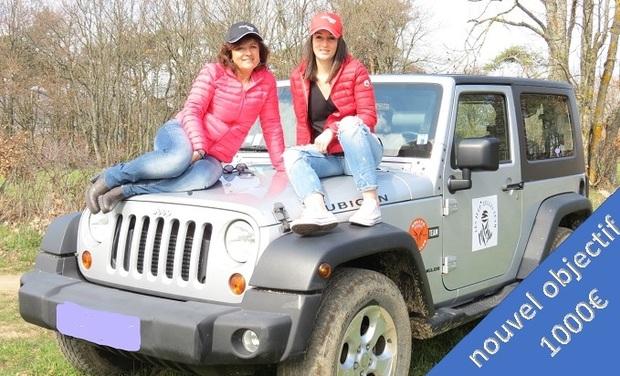 Visuel du projet Les Jeep'zelles Rallye Aïcha des Gazelles du 15 au 30 mars 2019
