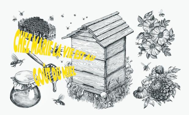 Visuel du projet Chez Marie la vie est au goût du miel