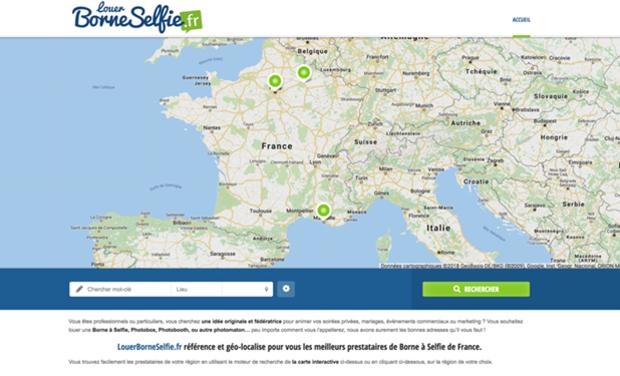 Visueel van project BORNE SELFIE +