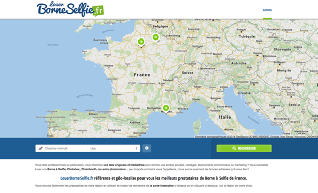 Visuel du projet BORNE SELFIE +