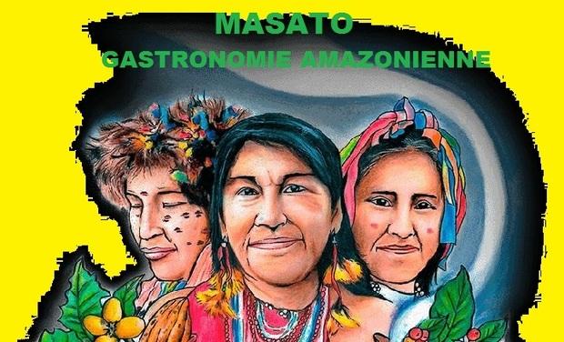 """Visuel du projet MASATO """" Voyage en amazonie au coeur de pantin """""""