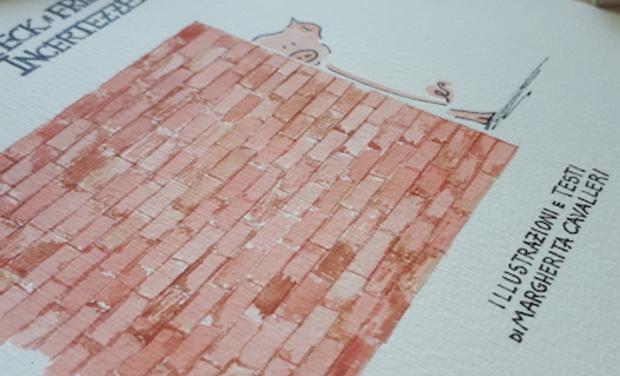 Project visual Le vignette di Speck & friends in un libro