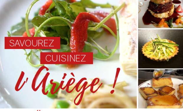 Project visual Le livre de recettes 100% Ariégeoises de la Cité du Goût et des Saveurs