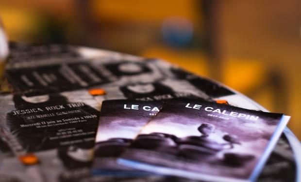 Project visual Le café théatre Le Calepin a besoin de vous
