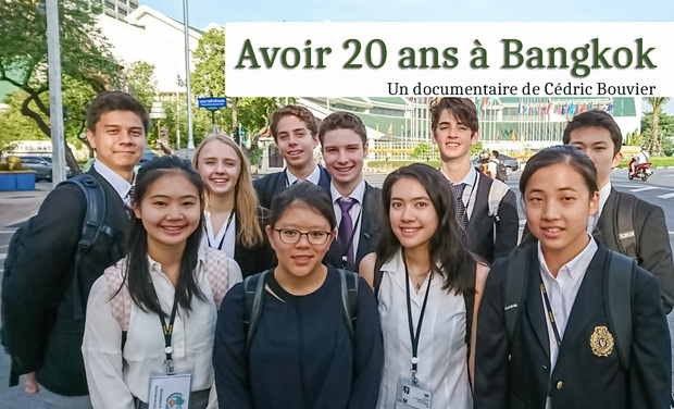 Project visual Avoir 20 ans à Bangkok (Sketching Bangkok)