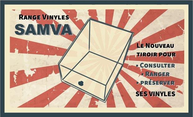 Visuel du projet Range Vinyles