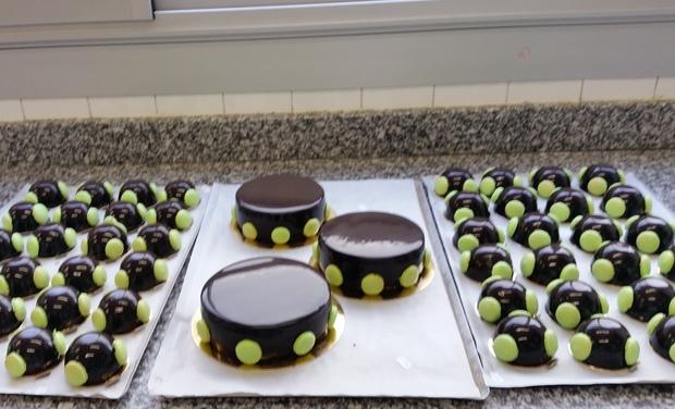 Visuel du projet Chez Angie fabrication ,ventes,et cours à domicile en pâtisserie et foodtruck.