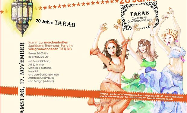 Project visual 20 Jahre TARAB