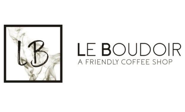 """Visuel du projet Coffee Shop """"Le Boudoir"""""""
