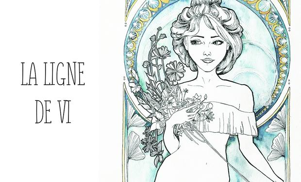 Visuel du projet La ligne de Vi - les débuts d'une tatoueuse