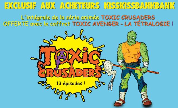 Visuel du projet THE TOXIC AVENGER la tétralogie en DVD/BluRay collector