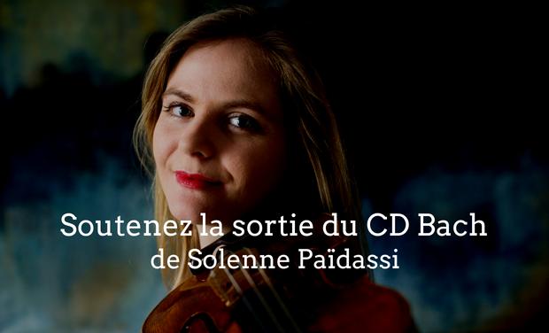 Visuel du projet Soutenez la sortie du nouveau CD de Solenne Païdassi