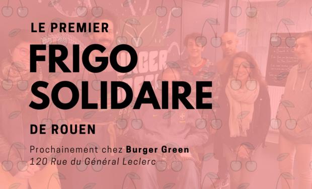 Visuel du projet Un Frigo Solidaire à Rouen