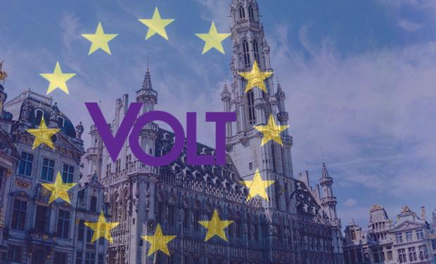 Visueel van project Volt Belgium