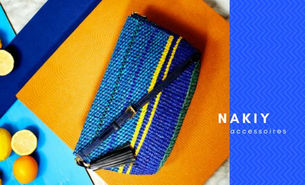 Visuel du projet Nakiy, accessoires de mode écologiques