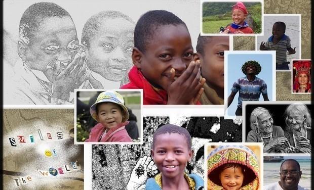 """Visuel du projet """"SMILES OF THE WORLD - Les drôles de dames en quête de sourires"""""""
