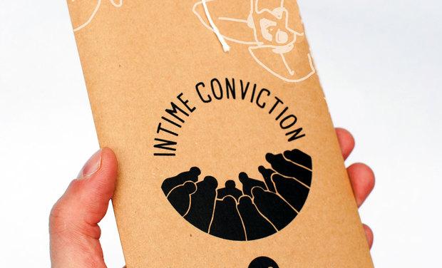 """Visuel du projet Jeu Intime Conviction: """"L'affaire du Passeur"""""""