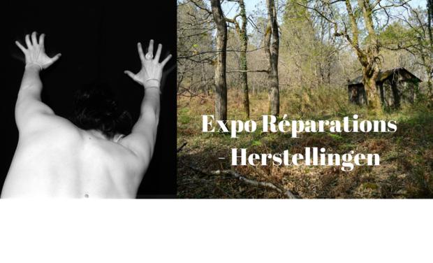 """Visuel du projet Exposition """"Réparations"""" - """"Herstellingen"""""""