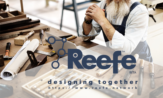 Project visual The digital ecosystem of designers & makers : Reefe