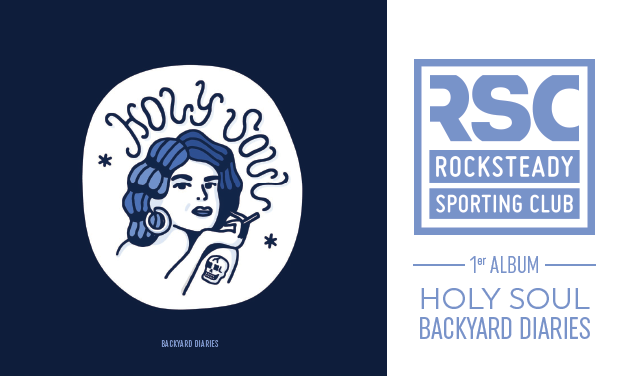Visuel du projet 1er album du Rocksteady Sporting Club