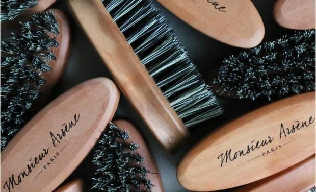 Visueel van project Monsieur Arsène, first French organic-vegan cosmetic brand for men