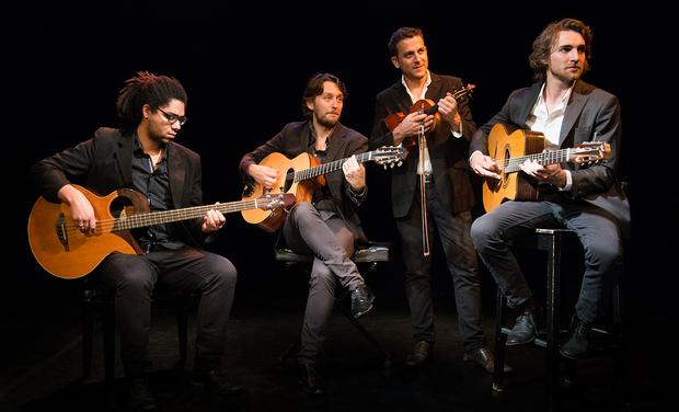 Visuel du projet Gala Swing Quartet, Nouvel Album: Notes Noires
