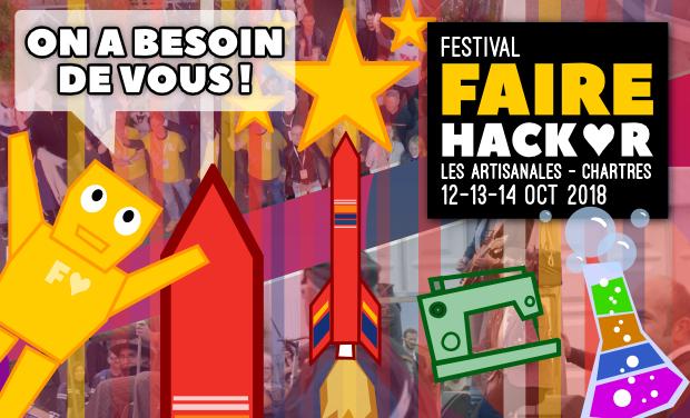 Visuel du projet Festival Faire Hacker : bâtissons un dôme géodésique