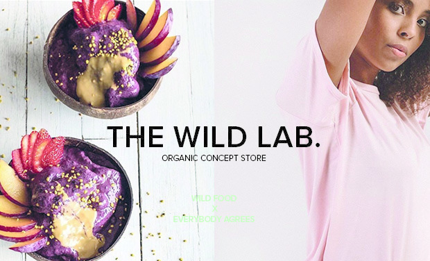 Project visual The Wild Lab, Le 1er concept store éthique à Bruxelles !