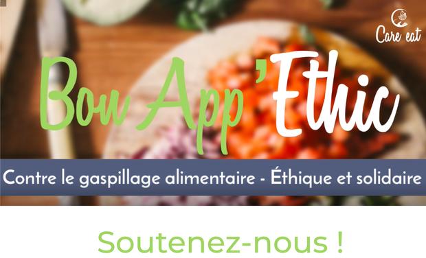 Visuel du projet Bon App'Ethic, l'appli éco-responsable et solidaire