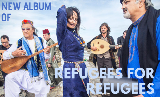 Visuel du projet Refugees for Refugees: new album