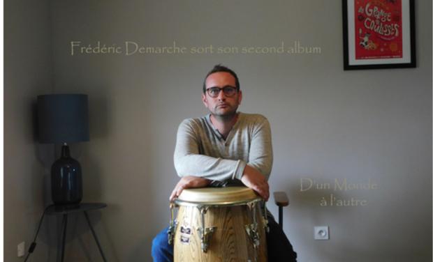 Project visual Deuxième album de Frédéric Demarche