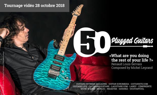 Visuel du projet Renaud Louis-Servais dirige 50 guitaristes sur une œuvre de Michel Legrand !