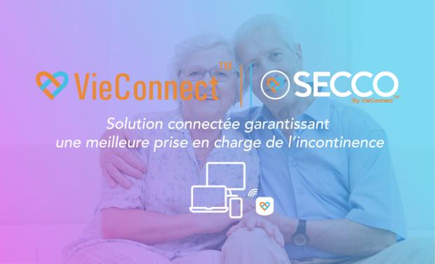 Visueel van project SECCO : Le capteur connecté comme réponse aux problèmes d'incontinence !