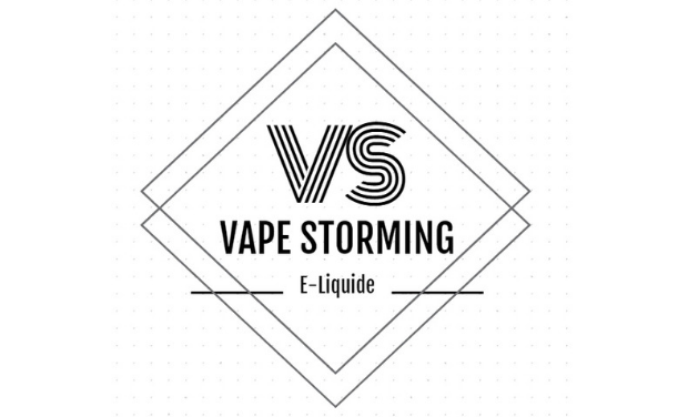 Project visual Vape Storming : Du E-Liquide Aux Arômes Bio Et Français !