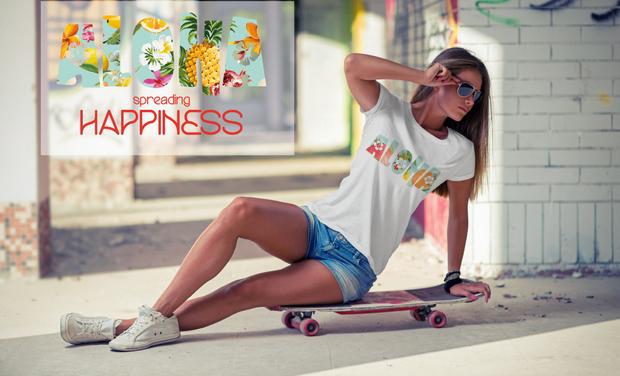 Visuel du projet Aloha - spreading Happiness