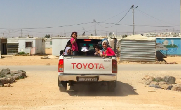 Project visual Taxi Pour Zaa'tari