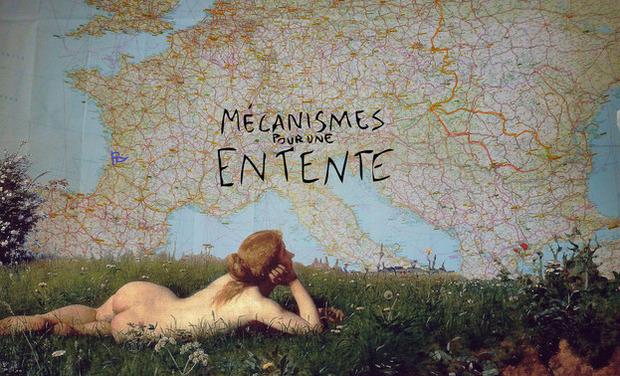 Visuel du projet Mécanismes Pour Une Entente - European artistic laboratory project