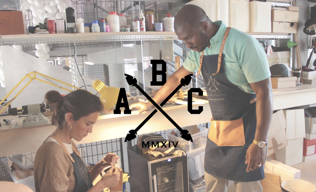 "Visuel du projet LE TABLIER ABC ""MADE IN PARIS"""