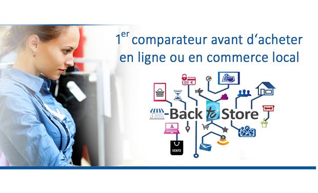Visueel van project BackToStore