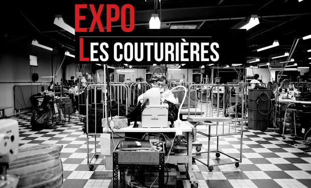 """Visueel van project EXPOSITION PHOTOGRAPHIQUE """"Les couturières"""""""
