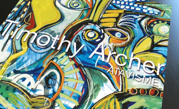 Visuel du projet ATAVISME, voyage au coeur de l'oeuvre de Timothy Archer