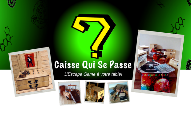 Visueel van project Caisse Qui Se Passe ? L'Escape Game à votre table !