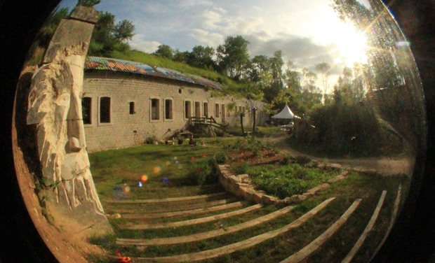 Visuel du projet Une salle d'eau écolo dans un ancien Fort