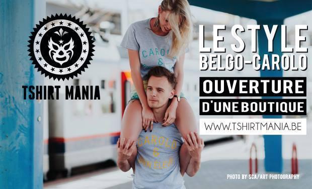 Visuel du projet Ouverture de la boutique Tshirt Mania: jeune, original et local !
