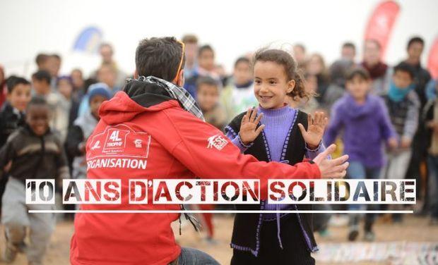 """Project visual Direction le 4L Trophy pour les """"Enfants du désert"""""""
