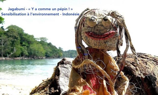 Visuel du projet Grande campagne de sensibilisation à l'environnement à travers l'Indonésie
